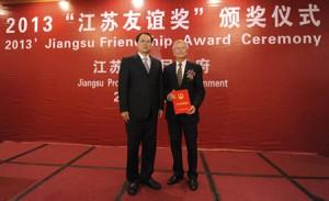 Prof. Dr. Siegfried Steinhäuser and Mao Weiming